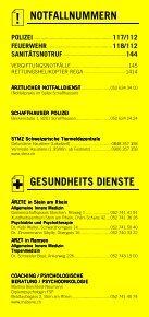 Infomerkblatt aus dem Bezirk Stein - Seite 2