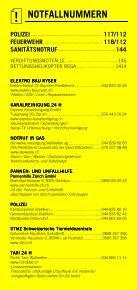 Infomerkblatt Dietlikon / Wangen / Brüttisellen - Seite 2