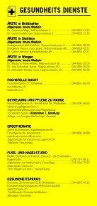 Infomerkblatt Dietlikon / Wangen / Brüttisellen - Seite 3
