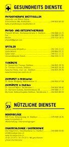 Infomerkblatt Dietlikon / Wangen / Brüttisellen - Seite 4