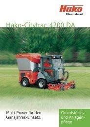 Hako-Citytrac 4200 DA - Galabautechnik