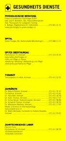 Infomerkblatt Amriswil / Biessenhofen / Dozwil / Hagenwil bei Amriswil / Hefenhofen / Sommeri - Seite 5