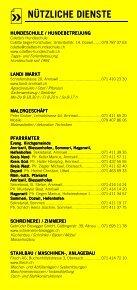 Infomerkblatt Amriswil / Biessenhofen / Dozwil / Hagenwil bei Amriswil / Hefenhofen / Sommeri - Seite 7