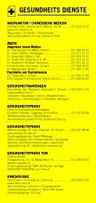 Infomerkblatt Sirnach / Busswil und Umgebung - Seite 3