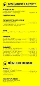 Infomerkblatt Sirnach / Busswil und Umgebung - Seite 4