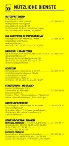 Infomerkblatt Sirnach / Busswil und Umgebung - Seite 5