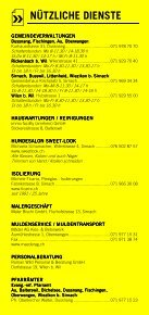 Infomerkblatt Sirnach / Busswil und Umgebung - Seite 6