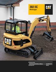 Mini Bagger CAT 302.5C