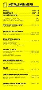 Infomerkblatt Thalwil / Gattikon / Kilchberg / Rüschlikon - Seite 2