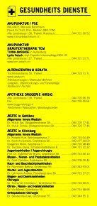 Infomerkblatt Thalwil / Gattikon / Kilchberg / Rüschlikon - Seite 3