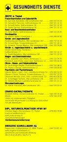 Infomerkblatt Thalwil / Gattikon / Kilchberg / Rüschlikon - Seite 5