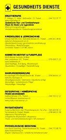 Infomerkblatt Thalwil / Gattikon / Kilchberg / Rüschlikon - Seite 6