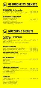 Infomerkblatt Stäfa / Uerikon / Uetikon am See / Männedorf - Seite 7
