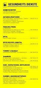 Infomerkblatt Geroldswil / Oetwil an der Limmat - Seite 4