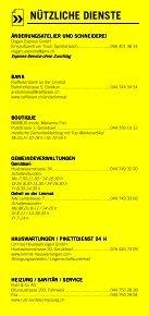 Infomerkblatt Geroldswil / Oetwil an der Limmat - Seite 5