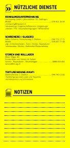 Infomerkblatt Geroldswil / Oetwil an der Limmat - Seite 7