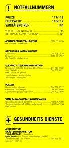 Infomerkblatt Horgen / Horgenberg - Seite 2