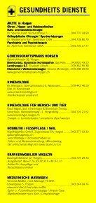 Infomerkblatt Horgen / Horgenberg - Seite 4