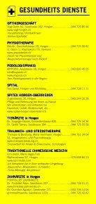 Infomerkblatt Horgen / Horgenberg - Seite 5
