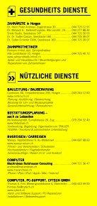 Infomerkblatt Horgen / Horgenberg - Seite 6