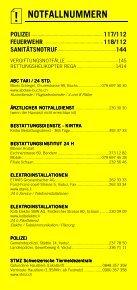 Infomerkblatt Fürstentum Liechtenstein (Vaduz) - Seite 2