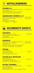 Infomerkblatt Fürstentum Liechtenstein (Vaduz) - Seite 3