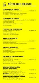 Infomerkblatt Uzwil und Umgebung - Seite 6