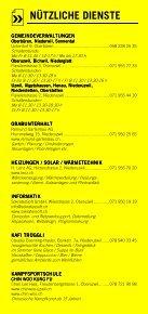 Infomerkblatt Uzwil und Umgebung - Seite 7
