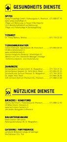 Infomerkblatt St. Margrethen und Umgebung - Seite 4