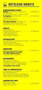 Infomerkblatt St. Margrethen und Umgebung - Seite 5