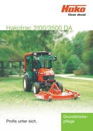 Hakotrac 3100/3500 DA - Galabautechnik
