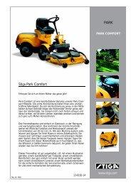 Stiga Park Comfort PARK - Galabautechnik