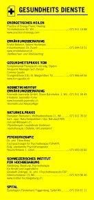 Infomerkblatt WIL SG / BRONSCHHOFEN / ROSSRÜTI / ZÜBERWANGEN / ZUZWIL - Seite 6
