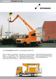 RUTHMANNSTEIGER® TK 145 - Galabautechnik