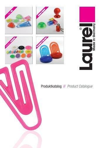 Produktkatalog // Product Catalogue