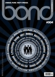 bond men's magazine - Ausgabe #004 [2011]