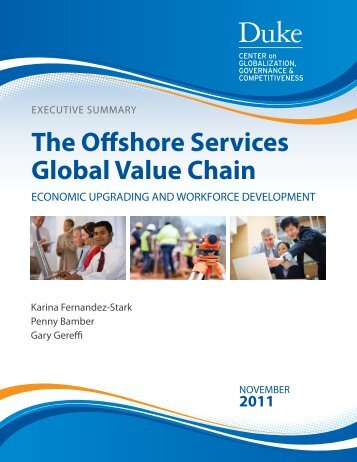 The Offshore Services Global Value Chain - Center on Globalization ...