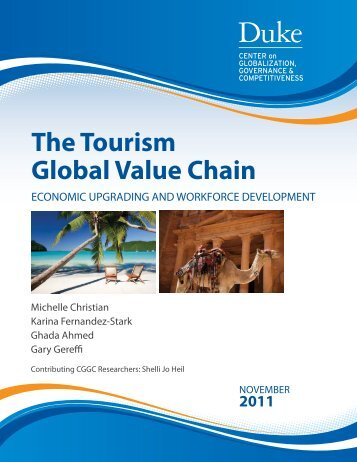 The Tourism Global Value Chain - Center on Globalization ...