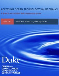 Accessing Ocean Technology Value Chains - Center on ...