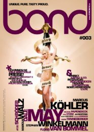 bond men's magazine - Ausgabe #003 [2011]
