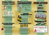 Rabattaktion im Juli 2011 Aktion im Dezember ... - Apotheke in Plauen