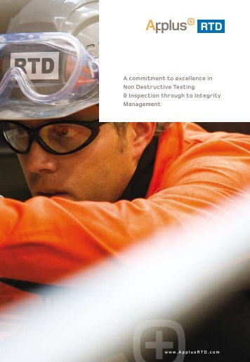 A commitment to excellence in Non Destructive Testing - Applus RTD