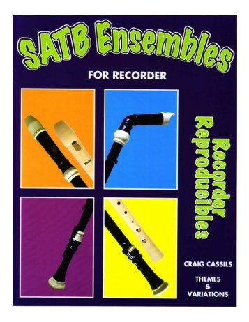 View the SATB Ensembles Book Sample - Themes & Variations