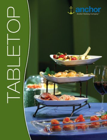 to download the pdf version of the Tabletop Catalog - Anchor Hocking