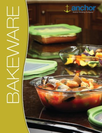 to download pdf version of the Bakeware Catalog - Anchor Hocking