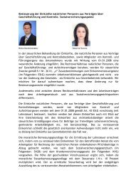 Besteuerung der Einkünfte natürlicher Personen ... - AHK Bulgarien