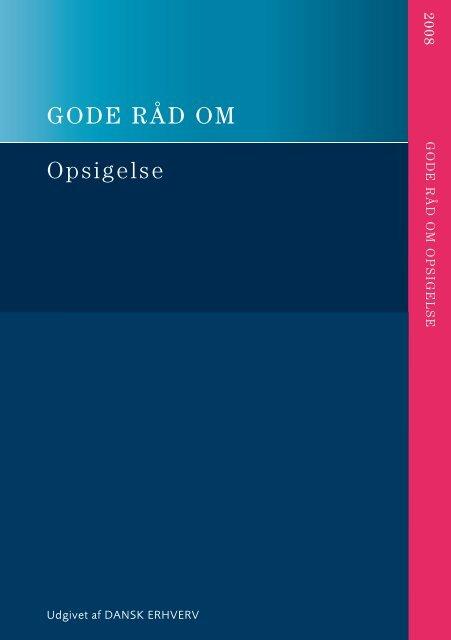 Opsigelse - Danish Design Association