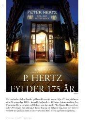 P. hertz fylder 175 år