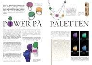 Power på paletten