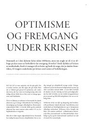 Optimisme og fremgang under krisen